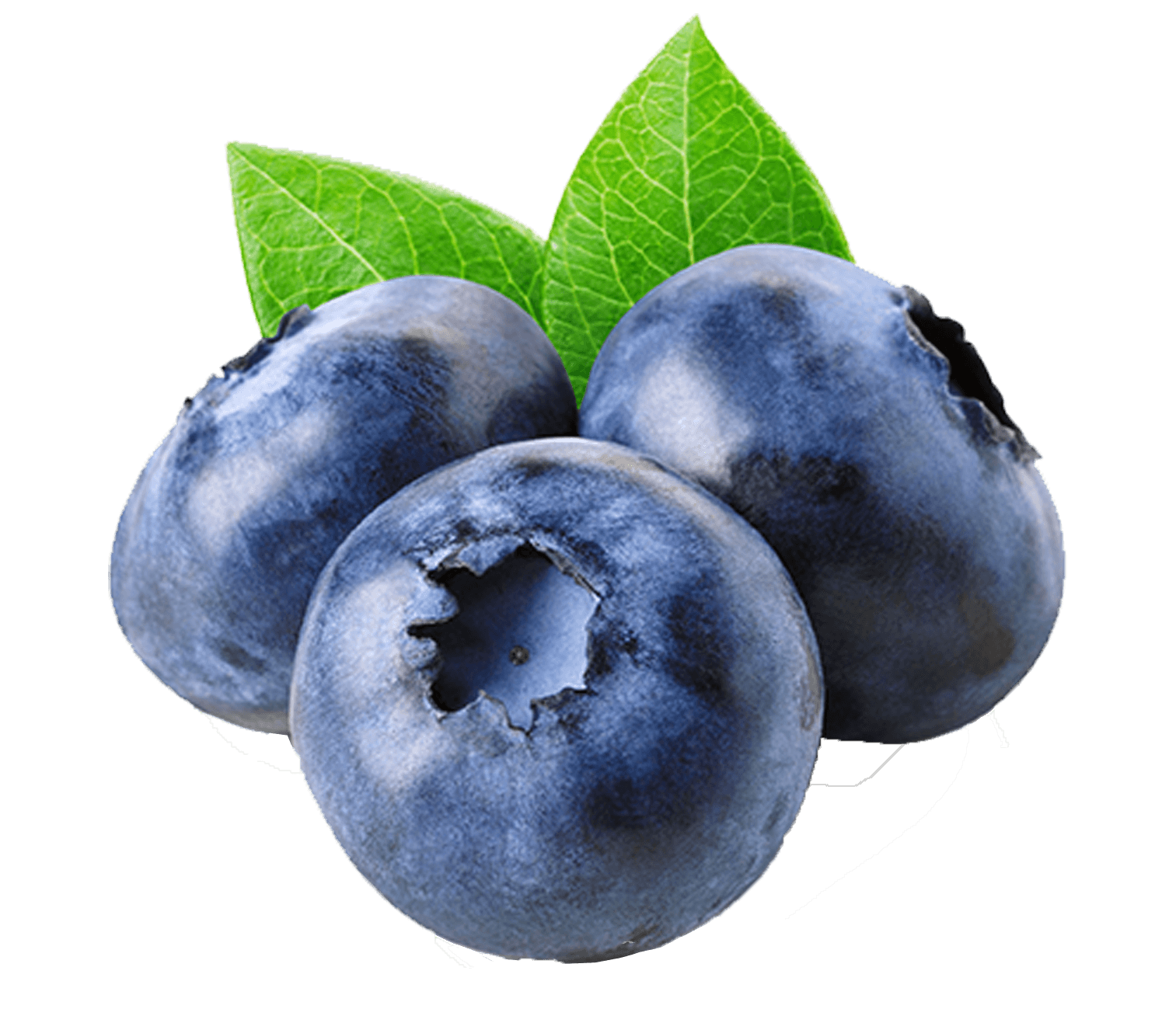 3 blueberries