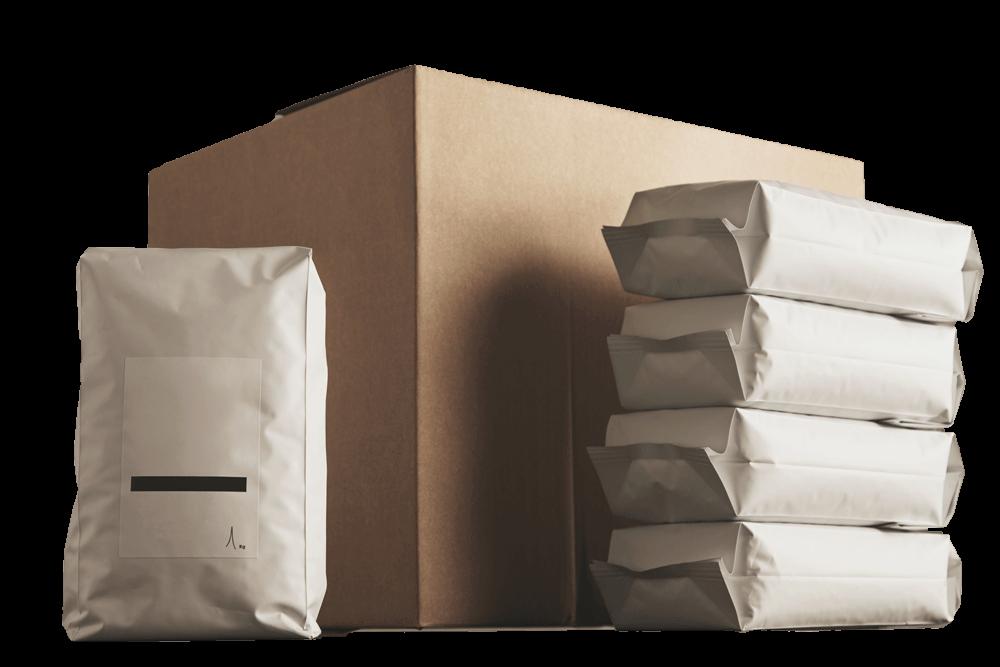 blank packaging bags & box
